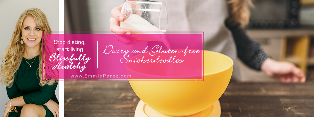 Dairy and Gluten Free Snickerdoodle Cookie Recipe